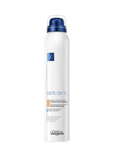 L'Oréal Loreal Serioxyl İncelmiş Saçlar için Hacim verici Renkli Sprey Sarı 200 ml Renksiz
